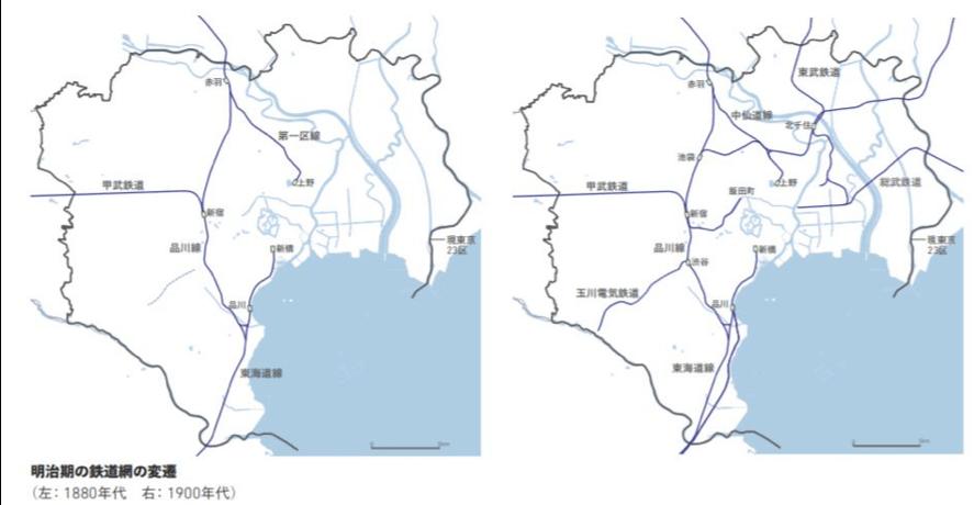 明治 東京市 発展