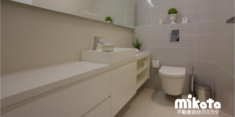 展示場接客術・・・1トイレ